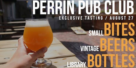 Perrin Pub Club – Beer & Apps tickets