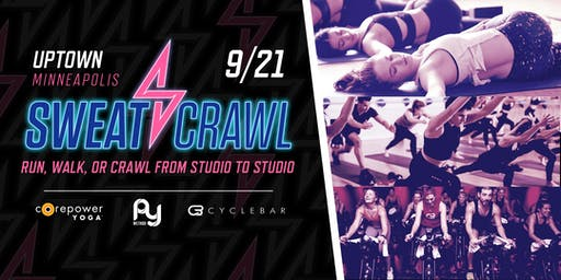 Sweat Crawl - Uptown (Minneapolis) - September 21st