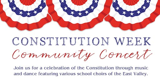 Constitution Week Community Concert