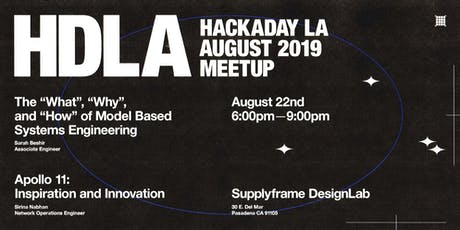 Hackaday LA August Meetup tickets