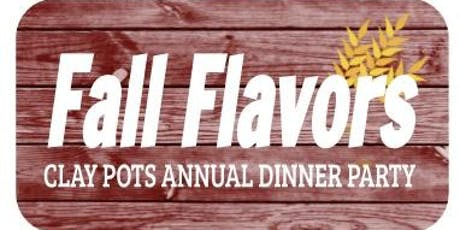 Fall Flavors: Clay Pots Annual Dinner Party tickets
