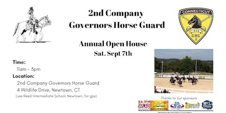 Second Company Governors Horse Guard Open House - Family Fun Day tickets