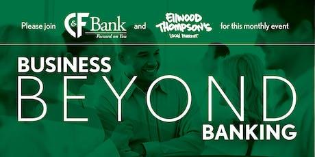 Business Beyond Banking: Small Business Tax Pitfalls tickets