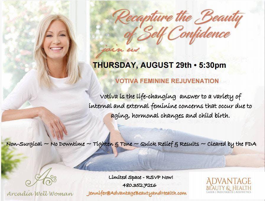 Votiva Feminine Rejuvenation, It's About You - It's About Time!