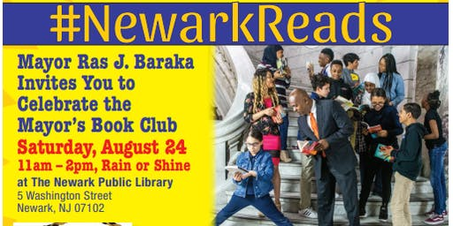 #NewarkReads Mayor's Book Club Celebration and Day of Fun for All Ages