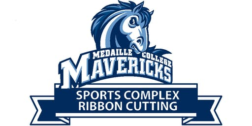 Medaille Sports Complex Ribbon Cutting