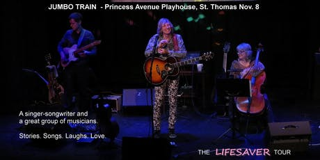 JUMBO TRAIN at Princess Ave Playhouse - LIFESAVER Tour tickets