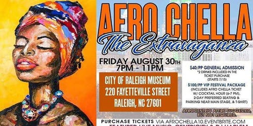 AfroChella by African American Cultural Festival of Raleigh and Wake County