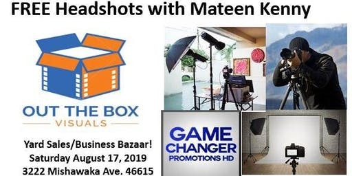 FREE Head Shots and Family Photos with Photographer Mateen Kenny