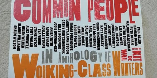 """Abbey Book Club - """"Common People - an Anthology of Working Class Writers"""""""