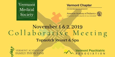 2019 Collaborative Meeting: VMS, AAPVT, VPA, VTAFP tickets