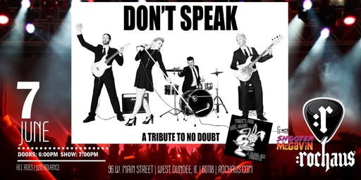 Don't Speak - Tribute to No Doubt