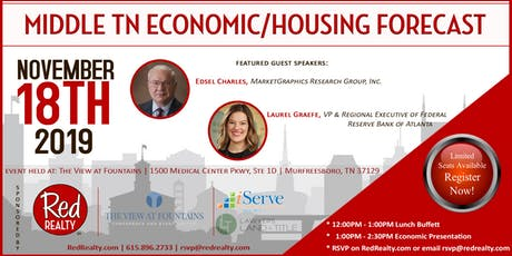 Middle TN Economic/Housing Forecast biglietti