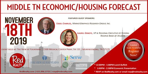 Middle TN Economic/Housing Forecast