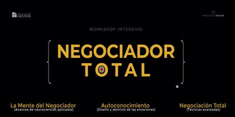 Workshop: Negociador TOTAL // Solicitud + Info entradas