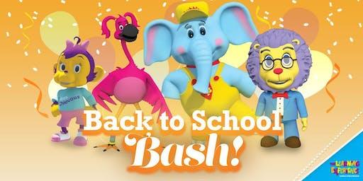 Bubbles' Big Back to School Bash