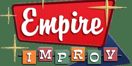 FREE Improv Workshop tickets