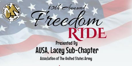 10th Annual Freedom Ride tickets