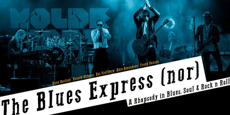 The Blues Express (Direct from Norway) Live Album Recording tickets