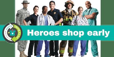 Heroes Shop the Kids EveryWEAR Sale before the Public