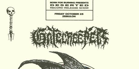 "Gatecreeper - ""Deserted"" Record Release Show tickets"