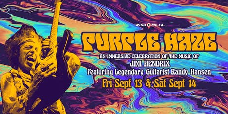 The Purple Haze Experience - A 360 VR Musical Tribute to Jimi Hendrix tickets