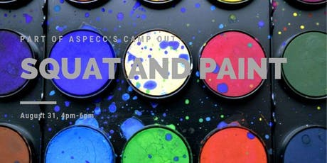 Squat and Paint tickets