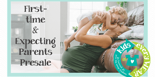 First-time & Expecting Parents & Grandparents Shop Kids EveryWEAR Consignment Sale before Public