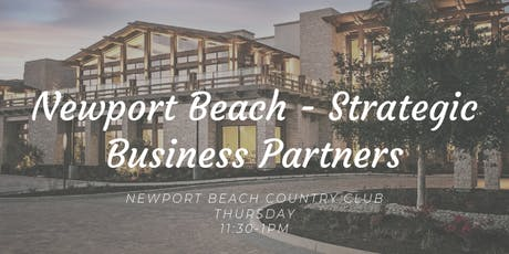 Newport Beach Strategic Business Partners tickets