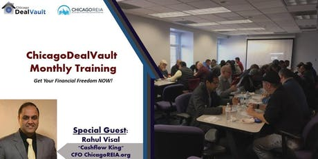 ChicagoDealVault Monthly Training tickets