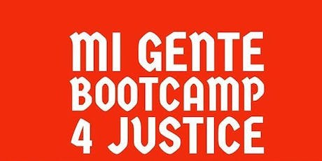 BOOTCAMP FOR JUSTICE tickets
