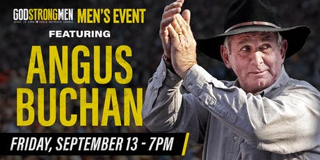 Men's Event with Angus Buchan tickets