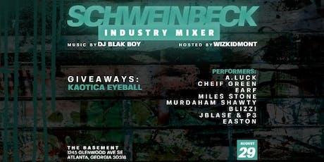 FREE entry b4 11pm 8/29/19 Schweinbeck Industry Mixer tickets