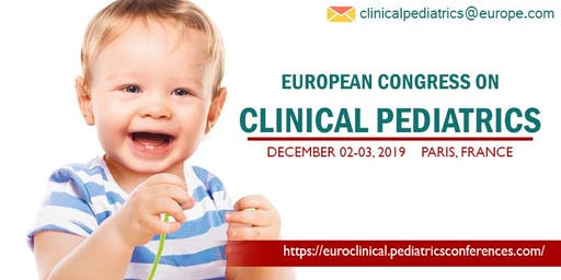 European Congress on CLINICAL PEDIATRICS