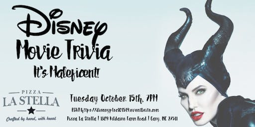 Disney Movie Trivia at Pizza La Stella Cary