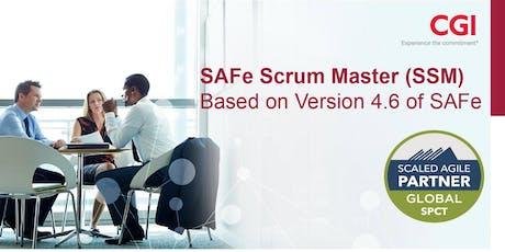 SAFe Scrum Master 4.6 with SSM Certification tickets