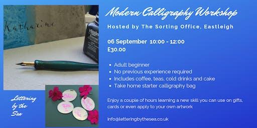 Beginner's Modern Calligraphy Workshop