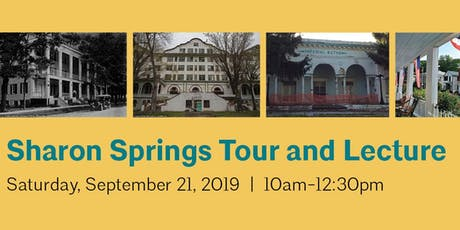 Sharon Springs Tour and Lecture tickets