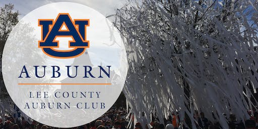 Lee County Auburn Club Joint Meeting with Auburn Touchdown Club