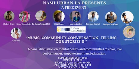 Music. Community Conversation. Telling Our Stories II.  tickets