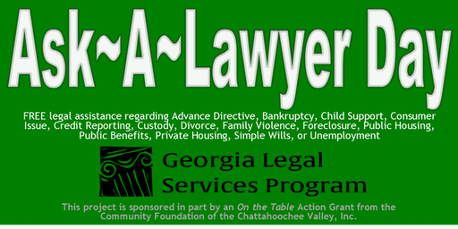 Ask A Lawyer Day Legal Clinic