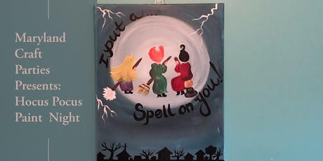 Hocus Pocus Paint Night with Maryland Craft Parties tickets