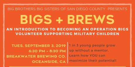 BBBS of San Diego: Operation Bigs Volunteer Info Session tickets