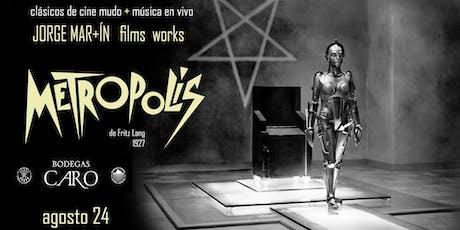 METRÓPOLIS: Clásicos del cine mudo + Música en vivo  entradas