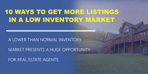 10 Ways to Get More Listings