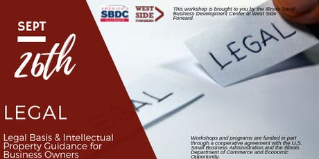Legal Basis & Intellectual Property Guidance for Business Owners  tickets
