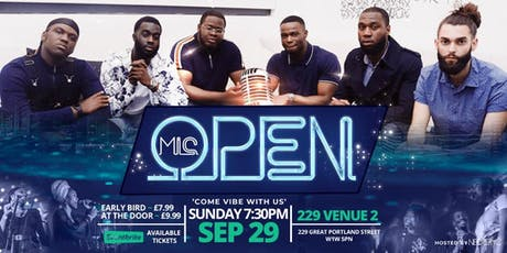 NEOTERYC LIVE OPEN MIC  tickets
