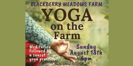 Baptiste Power Yoga Pittsburgh- Yoga on the Farm tickets