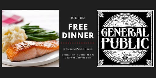 FREE Dinner With The Doctor  @ General Public House