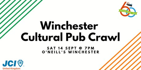 JCI UK Post AGM Winchester Cultural Pub Crawl tickets